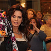 Marie Osmond in Atlanta showing off her new merchandise.